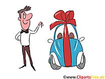 Auto Leasing Clipart, Afbeelding, Grafisch, Illustratie gratis