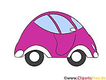 車、コンセプトクリップアート、イラスト、無料画像