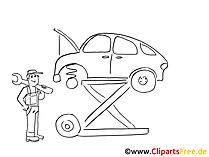 Araç onarım küçük resim, grafik, resim, çizgi film, komik ücretsiz