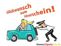 Wünsche zum Führerschein