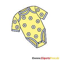 赤ちゃんボディスーツ画像 - クリップアート