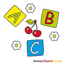 Letter Tink Baby speelgoedafbeeldingen
