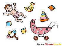 子供のクリップアート