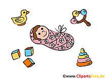 Geboorte foto's gratis voor afdrukken