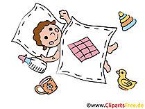 Ontwerp zelf kaarten voor de geboorte met onze clipart
