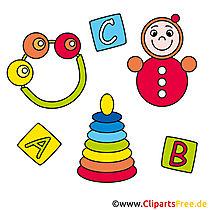 KiGa-foto's, speelgoed voor baby's