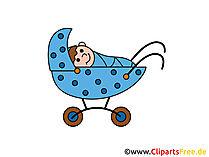 Kinderwagen Cartoon