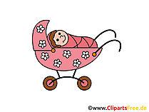 Kinderwagen Comic