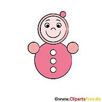 Puppe Bild - Clipart