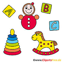 Spielzeug Bild - Clipart