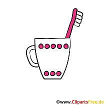 Tandenborstel afbeelding, clipart, afbeeldingen