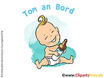 Aufkleber Auto Baby selbst gestalten mit unseren Cliparts