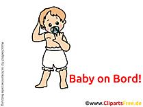 Aufkleber Auto selbst gestalten mit unseren Baby Bildern