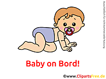 Baby aan boord - Maak je eigen sticker