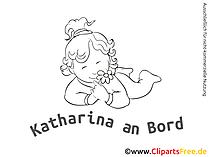 Aufkleber Baby mit unseren Cliparts selbst gestalten