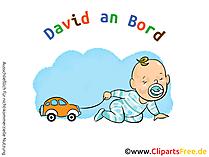 Aufkleber fuer Auto selbt gestalten mit unseren Cliparts