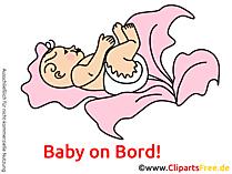 Auto Sticker Baby selbt gestalten