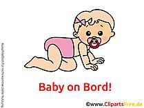 Autoaufkleber Baby selber machen mit unseren Grafiken