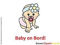 Baby on Bord selber gestalten