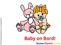 Babyaufkleber Auto selbt gestalten mit unseren Bildern