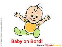 面白い赤ちゃんの写真、漫画、グラフィック、クリップアート