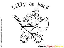 Sweet-Babyaufkleber mit unseren Grafiken selbst gestalten