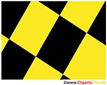 Gelb und Schwarz Hintergrundbild gratis