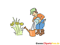 Bauer Clipart, Cartoon, Bild