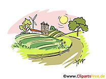 Bilder vom Bauernhof - kostenlose Cliparts