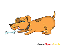 Cartoon Hund Clipart, Grafik, Illustration, Bild gratis