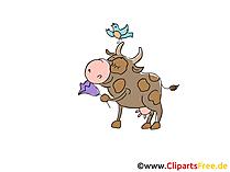Clip Art Bull