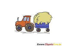Clipart Traktor