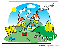Dorf-Clipart-free