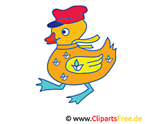 Ente Cartoon, Bild, Clipart free