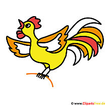 Chicken picture clipart za darmo