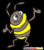 Hummel Clipart, Bild, Cartoon kostenlos