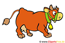 Kalb Clipart, Bild, Cartoon, Grafik, Illustration