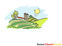 Landwirtschaft Cliparts, Bilder, Illustrationen