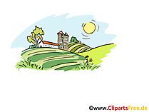 Tarımsal cliparts, resimler, çizimler