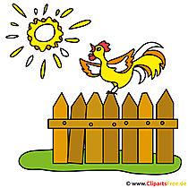 Sonnenaufgang Bild Clipart Bilder vom Bauernhof