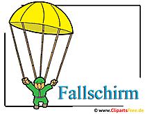 Fallschirm Clipart free - Armee Bilder kostenlos