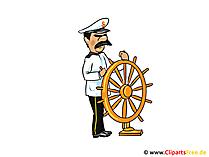 キャプテン画像、クリップアート、漫画、無料イラスト