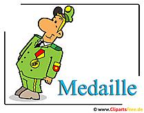 メダル画像クリップアート無料 - 軍の写真無料