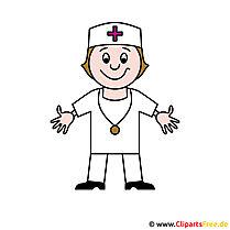 Arzt Cartoon-Bild - Berufe Bilder