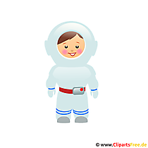 Astronaut image clipart for free