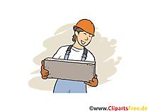 Baustoffprüfer Ausbildungsberufe Bilder, Cliparts, Grafiken
