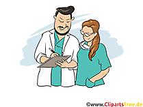 Facharzt Clipart, Bild, Grafik zum Thema Ausbildungsberufe