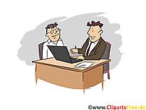 Fachberater Clipart, Bild, Grafik zum Thema Ausbildungsberufe