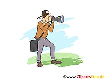 Fotograf Clipart, Bild, Grafik zum Thema Ausbildungsberufe