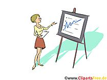 Kaufmann für Büromanagement  Finanzbuchhaltung und Controlling Clipart, Bild, Grafik